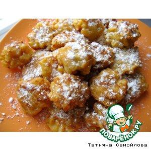 Рецепт: Яблочные пончики по-венгерски