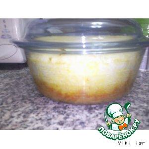 Рецепт: Запеченая индюшиная грудка с рисом