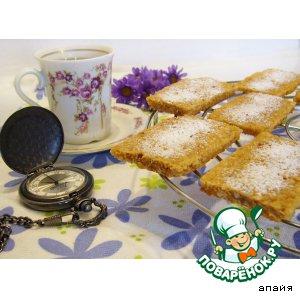Рецепт: Овсяно-ореховое печенье Файв-о-клок