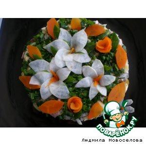 рецепт закуска лилия