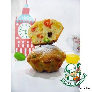 """Рецепт: Творожный кекс """"Биг Бен"""" с кумкватом"""