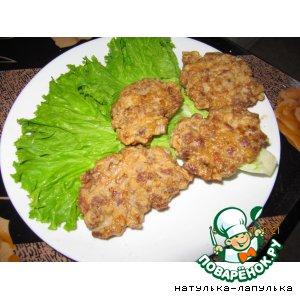 Рецепт: Котлеты из рубленого мяса