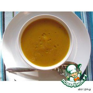 Рецепт: Суп из печеной тыквы