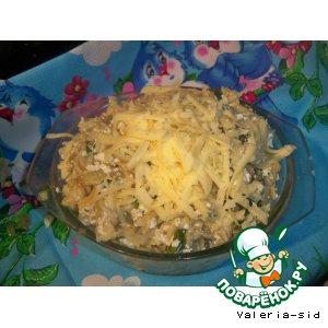 Рецепт: А-ля турошчуса со шпинатом