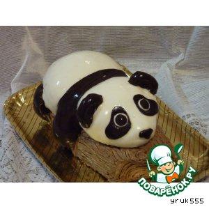 Рецепт: Торт Панда