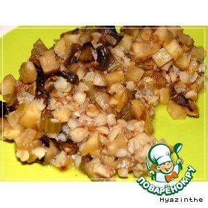 Рецепт: Грибы с сельдереем в яблочном соусе