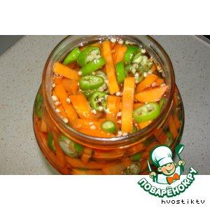 Острая морковка
