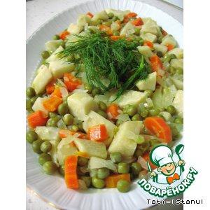 Рецепт: Сельдерей на оливковом масле
