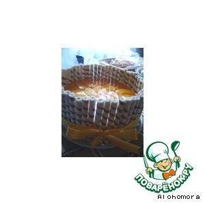 """Рецепт: Торт """"Персиковый подарок"""""""