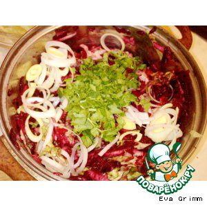 Рецепт: Фитнес-салат со свеклой