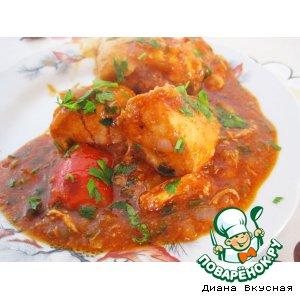Рецепт: Чахохбили