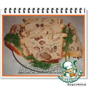 Рецепт: Мясное суфле с грибами