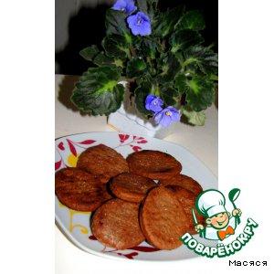 Рецепт Американское шоколадно-апельсиновое печенье