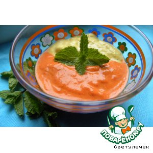 Рецепт: Суп Красно-жeлтый