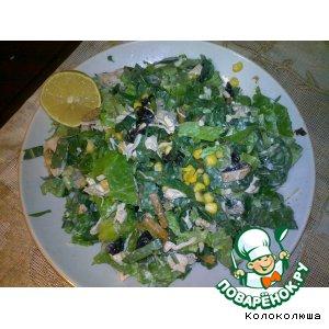 Рецепт: Салат для любимой фигуры