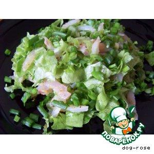 """Рецепт: Салат """"Зеленое море"""""""