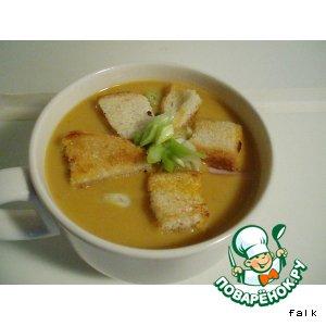 Рецепт: Суп-пюре гороховый со специями