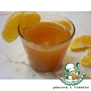 Рецепт: Напиток пряный грейпфрутовый