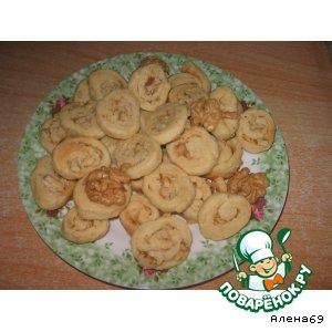 Рецепт: Сырные вафли в микроволновке