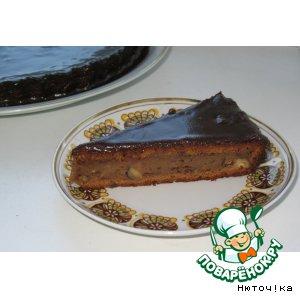 Рецепт: Шоколадный торт с картофелем и фундуком