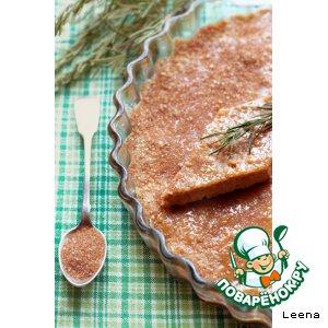 Рецепт: Розмариновый шотбред с медом