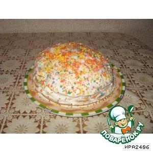 """Рецепт: Торт """"Сладкая гармония """""""
