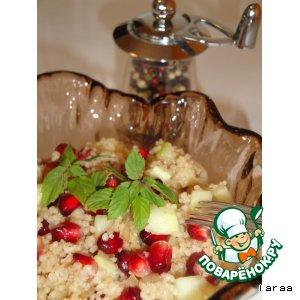 Рецепт: Кус-кус салат