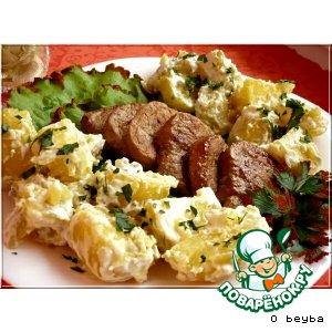 Рецепт: Свинина с картофелем Варнеро