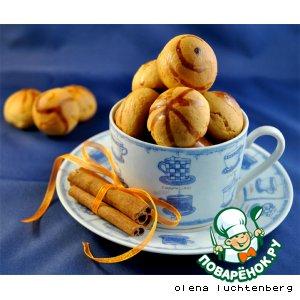Рецепт: Медовые пряники с начинкой