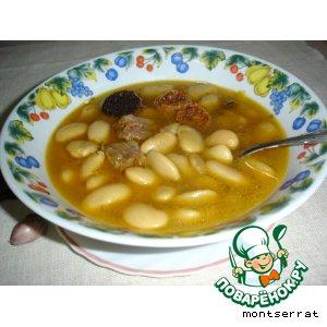 Рецепт: Fabada asturiana/Фабада из Астурии