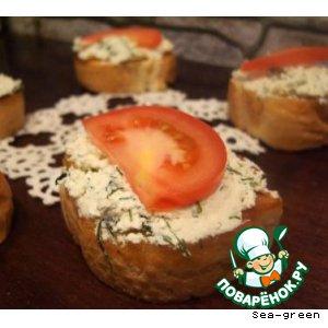 Рецепт: Бутерброды Египетские
