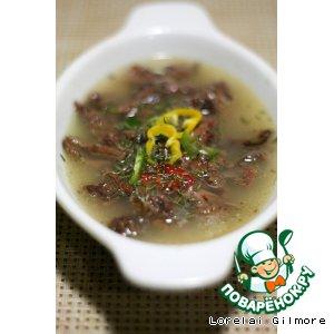 Рецепт: Суп с говяжьими хвостами