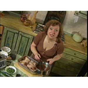 Рецепт: Куриные ножки по-тайски с салатом из огурца