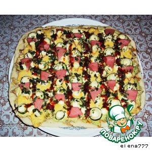 Mega-pizza