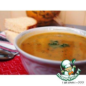 Рецепт: Тыквенный суп-пюре
