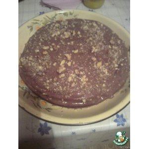 Рецепт: Торт именинный