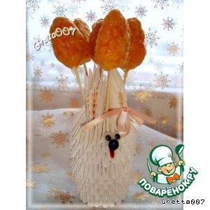Рецепт: Кукурузные морковки