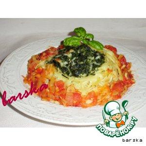 Nests of spaghetti