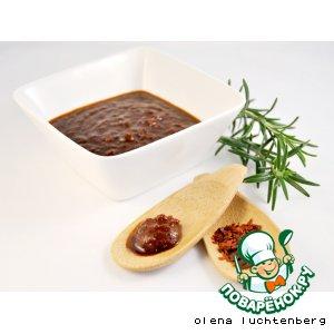 Рецепт: Барбекю соус с медом