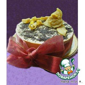 Рецепт: Творожный торт-мусс Сливочная ириска