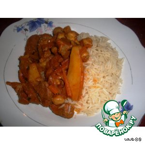 Рецепт Баранина с рисом по-ливийски