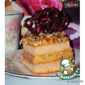 Рецепт: Пирожные Желаю счастья!