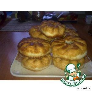 Рецепт: Перемячи с мясом по-татарски