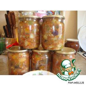 Рецепт: Чанахи из овощей