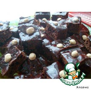Рецепт: Пирожные Темная ночь