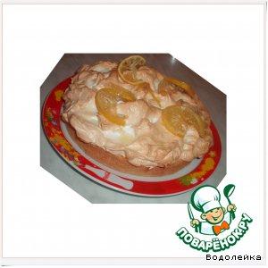 Рецепт: Лимонный пирог с меренгами