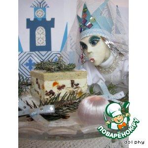 Рецепт: Ледяное пирожное для Снежной Королевы