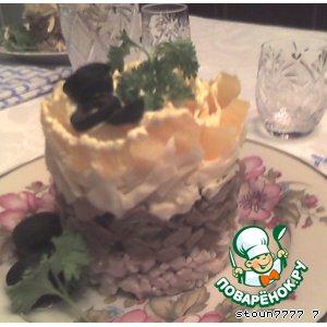 Рецепт: Праздничный салат