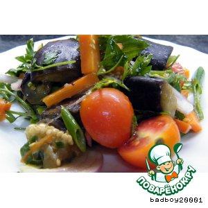 Рецепт: Салат из синеньких ягод