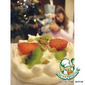 Рецепт: Десерт Королевская корона